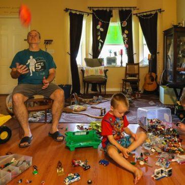 Hoe zorg je ervoor dat je woonkamer geen speelplaats wordt?